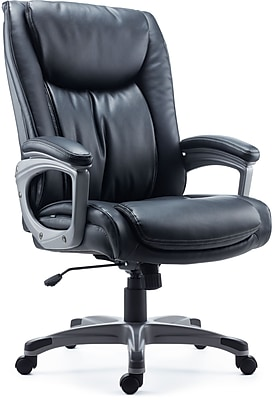 Staples Westcliffe Bonded Leather Managers Chair, Black. Rollover Image To  Zoom In. Https://www.staples 3p.com/s7/is/