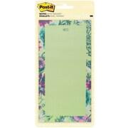 "Post-it® Notes, 4"" x 8"", Tropical Design (BC-LIST-TROP)"