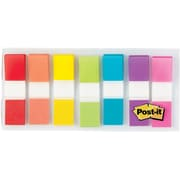 """Post-it® Flags, Assorted Colors, 1/2"""", 190 flags/pack (683-7CF)"""