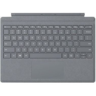 Microsoft Signature Type Cover Keyboard/Cover Case for Tablet, Platinum