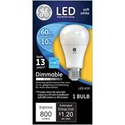 GE LED 10 Watt Soft White A19 (67511)