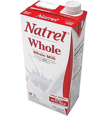 Natrel® Whole Milk; 32 oz., 12/Pack