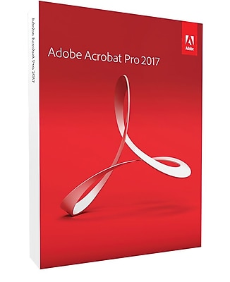 Adobe Acrobat Professional 2017 for Windows (1 User) [Boxed]