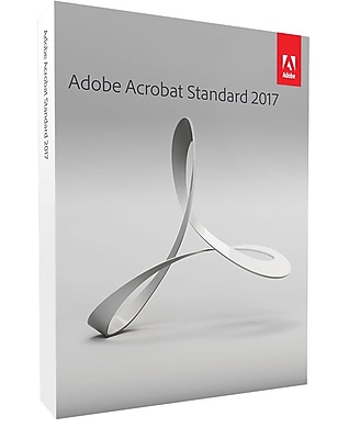 Adobe Acrobat Standard 2017 for Windows (1 User) [Boxed]