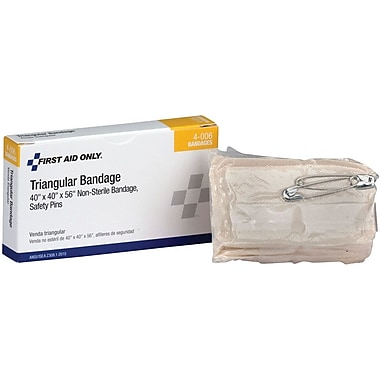 First Aid Only® Muslin Triangular Sling/Bandage, 1 Per Box (AN5071/4-006)