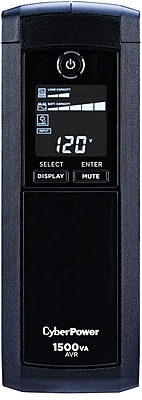 CyberPower Intelligent LCD 1500VA 8-Outlet UPS