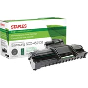 Staples® Remanufactured Laser Toner Cartridge, Samsung SCX-4521 (SCX-4521D3), Black