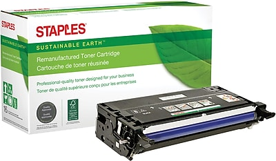 Staples® Remanufactured Color Laser Toner Cartridge, Xerox Phaser 6280, Black, High Yield