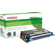 Staples® Remanufactured Color Laser Toner Cartridge, Xerox Phaser 6280, Cyan, High Yield