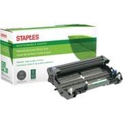 Staples® Remanufactured Laser Drum Unit, Brother DR520 (DR-520), Black