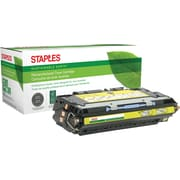 Staples® Remanufactured Color Laser Toner Cartridge, HP 311A (Q2682A), Yellow