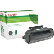 Staples® Reman Laser Toner Cartridge, Panasonic UG5510, Black