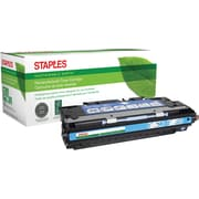 Staples® Remanufactured Color Laser Toner Cartridge, HP 311A (Q2681A), Cyan