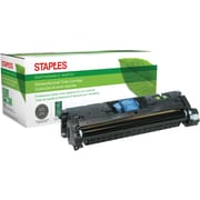 Staples® Remanufactured Cyan Laser Toner Cartridge, HP 121A/122A/123A (C9701A/Q3961A/Q3971A)