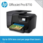Hp Officejet Pro 8710 Wireless All In One Color Printer Staples
