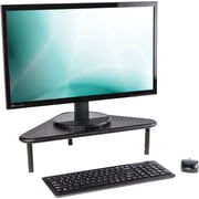 Staples Adjustable Steel Corner Monitor Stand