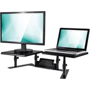 Staples Dual Monitor Adjustable Stand (51230)