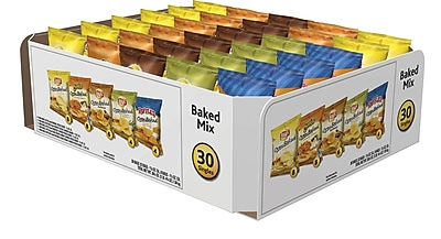 Frito Lay® Variety Pack, Baked & Popped Mix, 60 Bags/Case