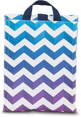 JanSport Rolltop Lunch Bag Shadow Chevron