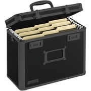 Vaultz® Locking Personal File Tote, Letter, Tactical Black (VZ00310)