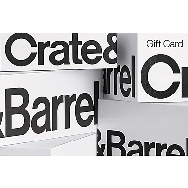 Crate and Barrel Gift Card $50 (Email Delivery)