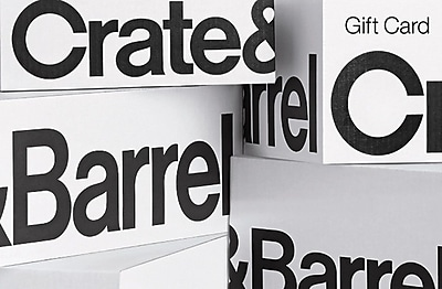 Crate and Barrel Gift Card $100 (Email Delivery)