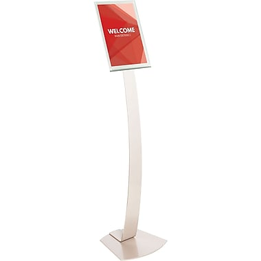 Deflecto® Oversize Contemporary Sign Stand, 11