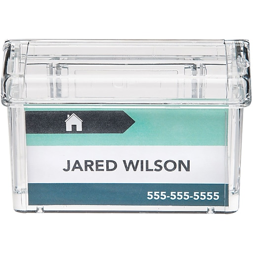 Deflecto grab a card outdoor business card holder staples httpsstaples 3ps7is colourmoves