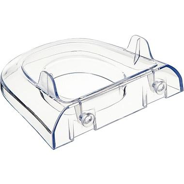 Deflecto® Lit Loc Plastic Base/Wall Support for Interlocking Displays , 1.38