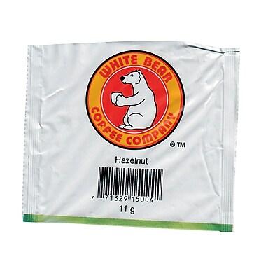 White Bear Hazelnut Single Serve Coffee, 11 gram, 50/ct