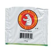 White Bear Pumpkin Spice Pods, 11 Grams, 50/CT