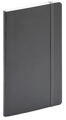 Poppin Dark Gray Medium Softcover Notebook (103193)