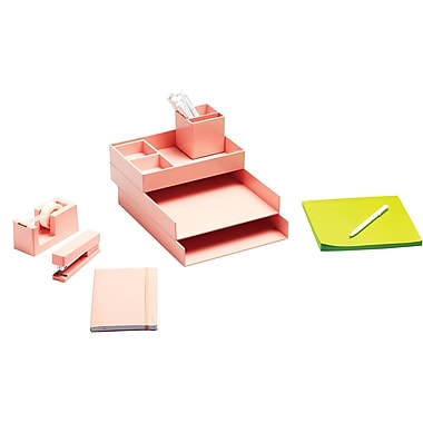 Poppin Blush Dream Desk (104675)