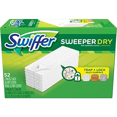 Swiffer Sweeper Dry Sweeping Pad, Unscented