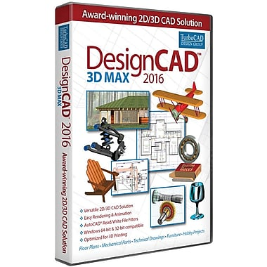 DesignCAD 3D Max for Windows (1 User) [Download]