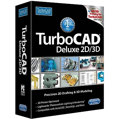 TurboCAD Deluxe 2016 for Windows (1 User) [Download]