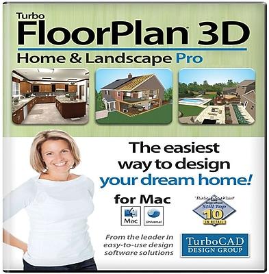 TurboFloorPlan Home & Landscape Pro 2015 for Mac (1 User) [Download]