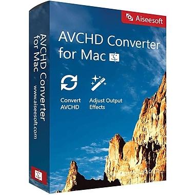 Aiseesoft AVCHD Converter for Mac (1 User) [Download]