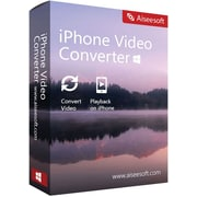 Aiseesoft iPhone Video Converter for Mac (1 User) [Download]