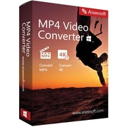 Aiseesoft MP4 Video Converter (1 User) [Download]