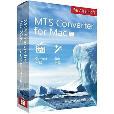 Aiseesoft MTS Converter for Mac (1 User) [Download]