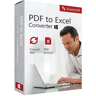 Aiseesoft PDF to Excel Converter (1 User) [Download]