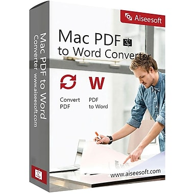 Aiseesoft Mac PDF to Word Converter for Mac (1 User) [Download]