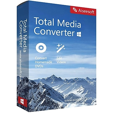 Aiseesoft Total Media Converter for Windows (1 User) [Download]