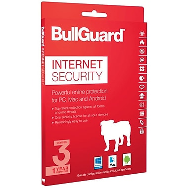 BullGuard Internet Security 2017 for Windows/Mac (1-3 Users) [Download]