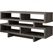 "Monarch Specialties Inc. I 2462 48"" TV Console Table, Dark Taupe"