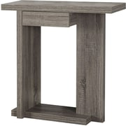 "Monarch Specialties Inc. I 2459 32"" Console Accent Table, Dark Taupe"
