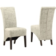 Monarch Dining Wood,fabric Chairs Vintage French