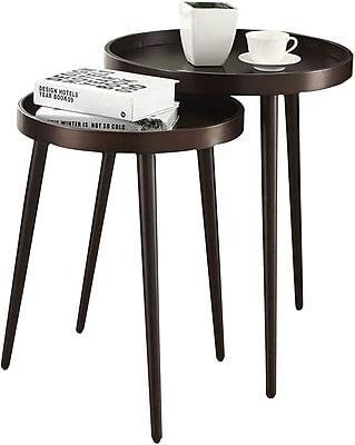 Monarch Nesting Table Set 2 Pcs Cappuccino