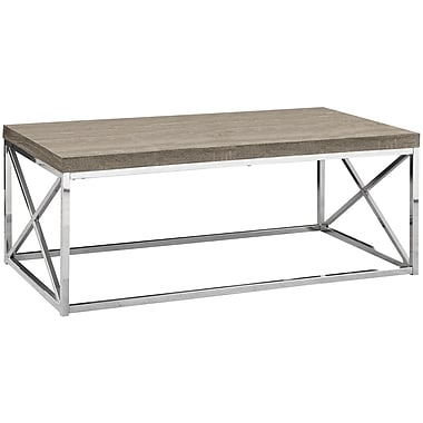 Monarch Cocktail Table 1 Dark Taupe